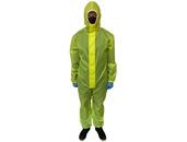 Средства ГО Комбинезон защитный с капюшоном из текстильного материала Таффета(Желтый, 60 г/м²), размер L